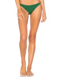 Solid & Striped - The Wendy Bikini Bottom In Green - Lyst