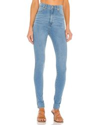 Dr. Denim Solitaire Skinny In Blue. Size Xs.