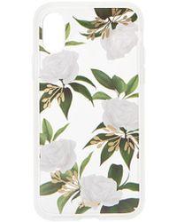 Sonix Petunia iPhone X/XS Case - Weiß
