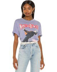 Daydreamer Camiseta david bowie glass spider tour - Morado