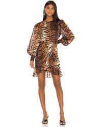 LPA Deirdre ドレス - ブラウン