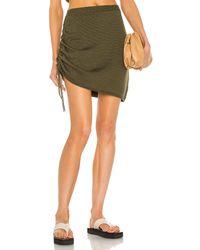 JoosTricot String Mini Skirt - Green