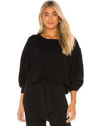 Lanston Пуловер Porter В Цвете Черный