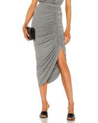 Generation Love Joy Lurex Skirt - Grey
