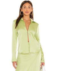 Paris Georgia Basics Sateen Shirt - Green