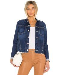 L'Agence Janelle Slim Jacket - Blau