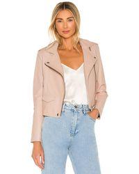 IRO Куртка Ashville В Цвете Розовый Порошок - Многоцветный