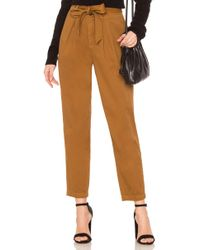 Free People - Hi-waisted Pegged 90's Pant - Lyst