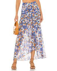 MISA Los Angles Saskia Skirt - Blue