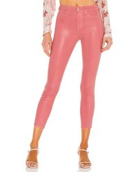 L'Agence Margot High Rise Skinny - Pink