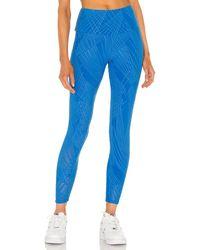 Onzie Selenite Midi Legging - Blau