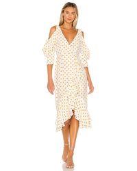 House of Harlow 1960 X Revolve Ginger Dress - White
