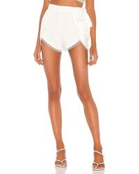 Lovers + Friends Nicolette Shorts - Natural