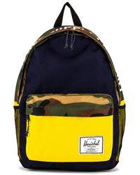 Herschel Supply Co. Рюкзак Classic X-large В Цвете Peacoat Woodland Camo & Lemon Chrome - Многоцветный