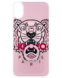 KENZO - Silicone With Ring Iphone X Case - Lyst