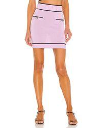 Lovers + Friends Pearl Mini Skirt - Lila