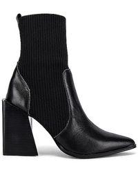 Steve Madden Tackle Sock Bootie - Black
