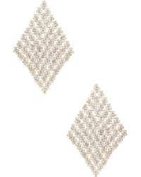 8 Other Reasons Pave Earring - Mettallic