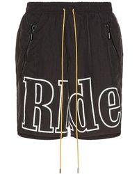Rhude ショートパンツ - ブラック