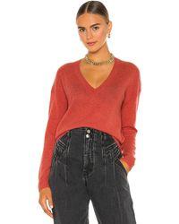 360cashmere Alexandria Cashmere Sweater - Rot