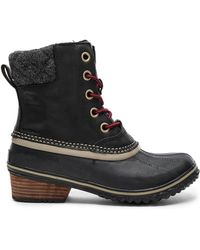Sorel Slimpack Ii Lace Boot - Black