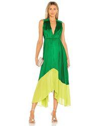 AMUR Amelia Dress - Green