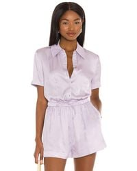 Song of Style Raylan Top - Purple