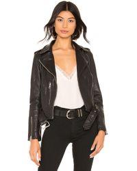 AllSaints Куртка Balfern В Цвете Черный