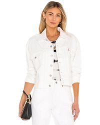 Levi's Куртка Heritage В Цвете Clean Sweep - Белый