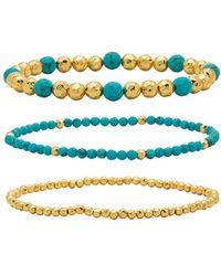 Gorjana - Gypset Bracelet Set In Gold. - Lyst