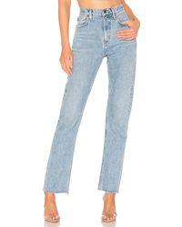 Agolde Jean pierna recta cherie - Azul