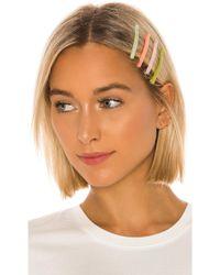 Amber Sceats Nina Hairclip Set - Green