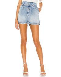 IRO Laconi Shorts - Blau