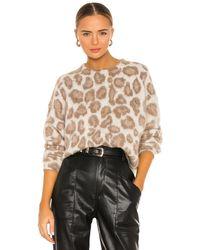 Rag & Bone Свитер Cheetah В Цвете Бежевый И Бежевый - Естественный