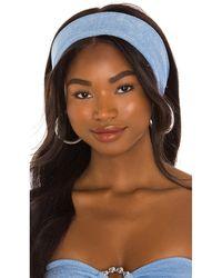 Devon Windsor Headscarf - Blue
