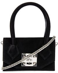 Salar Kio Soft Crossbody Bag - Black