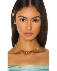 Joolz by Martha Calvo Roll With It Choker - Metallic