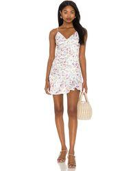 MAJORELLE Melville Mini Dress - Weiß