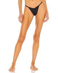 Frankie's Bikinis Binx Bikini Bottom - Black