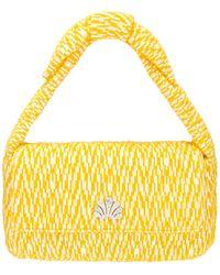 Lele Sadoughi Сумка На Плечо Lyle В Цвете Knitted Yellow - Желтый