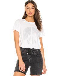 Lauren Moshi Edda グラフィックtシャツ - ホワイト