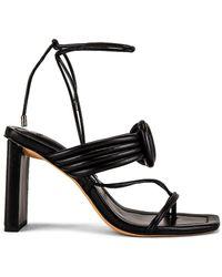 Alexandre Birman Vicky Maxi Toe Sandal - Black