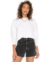 Anine Bing Reed Sweatshirt - White