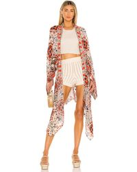 Free People Little Wing 着物 - レッド