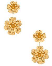 Jennifer Behr - Double Floral Dangle Earrings - Lyst