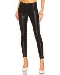 Blank NYC Pussy Cat Vegan Leather Legging - Schwarz