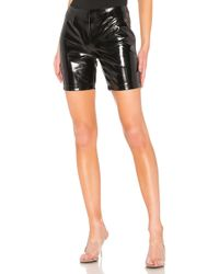 Gcds Latex Shorts - Schwarz