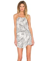 IKKS - Printed Dress - Lyst