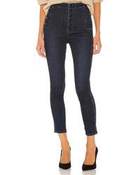 J Brand Natasha Sky High Crop Skinny. Size 24,25,27,28,29,30. - Blau