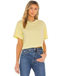 Richer Poorer Relaxed Crop Tee - Natural
